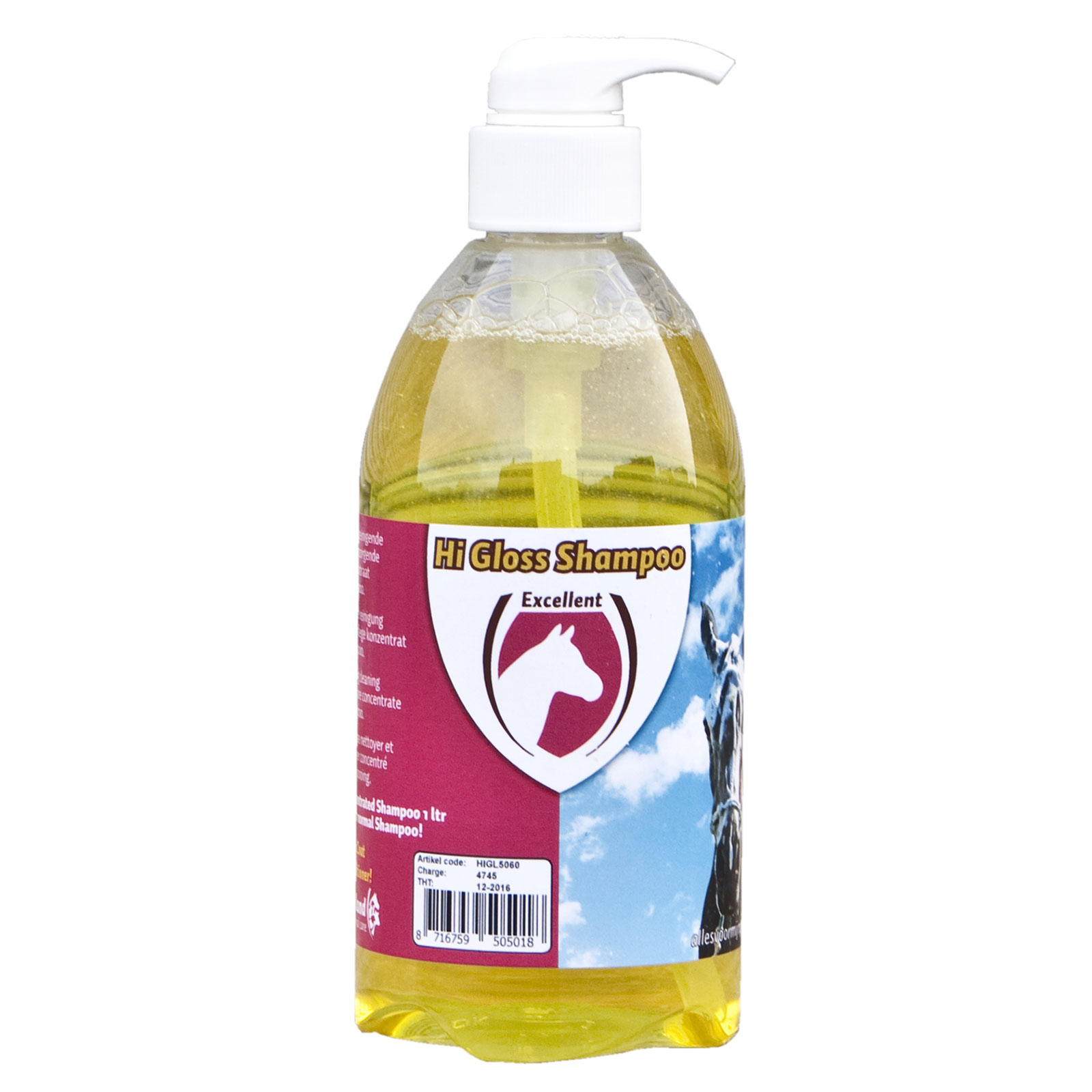 Holland Animal Care Hi Gloss Shampoo