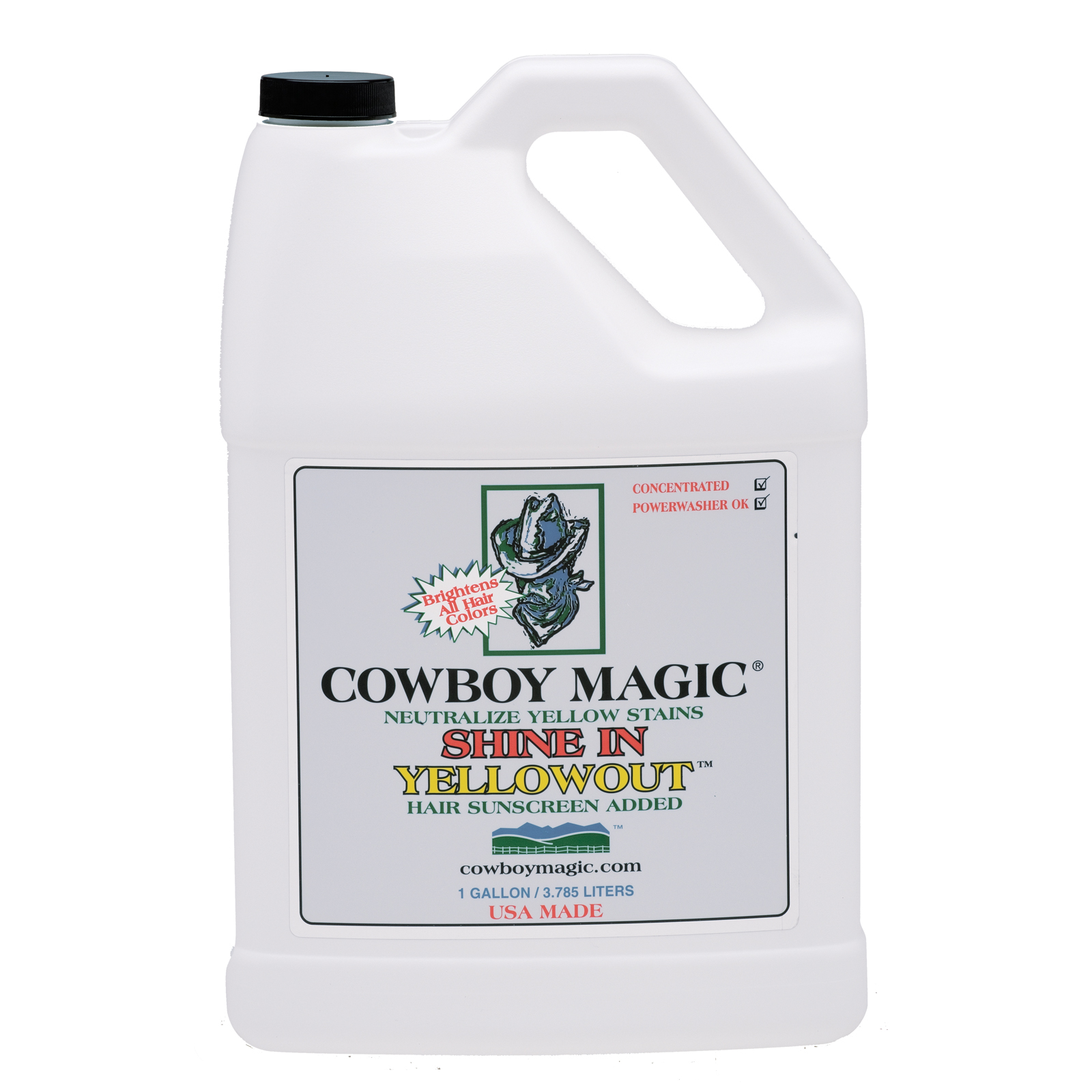 Cowboy Magic Shine In Yellowout™ Shampoo 3785 mL
