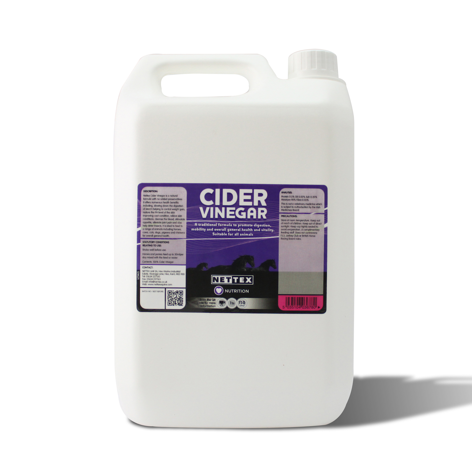 Nettex Apple Cider Vinegar 1 L