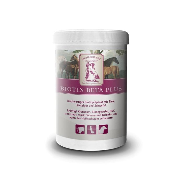 Mühldorfer Biotin Beta Plus 750 g