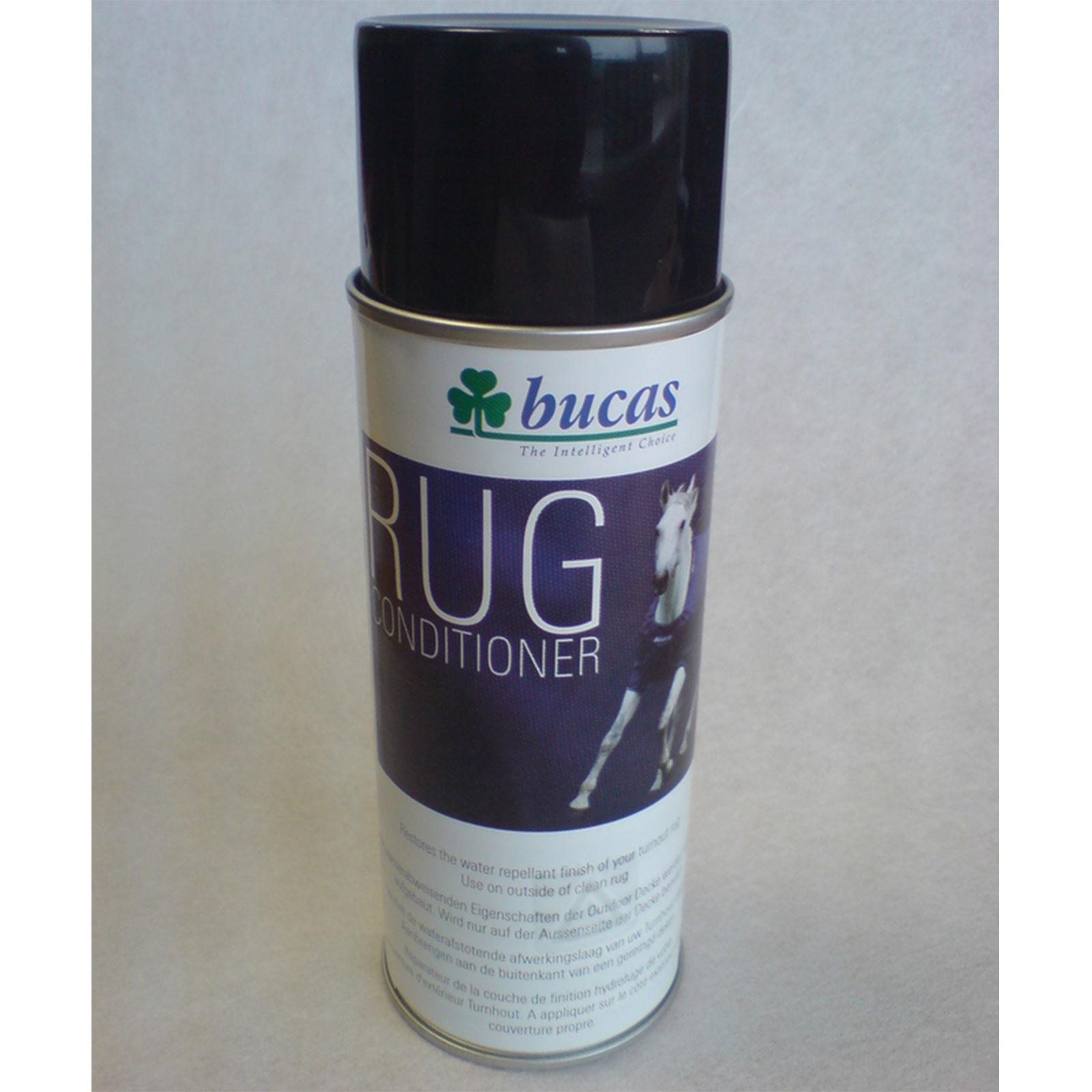 Bucas Rug Conditioner täckesimpregnering.