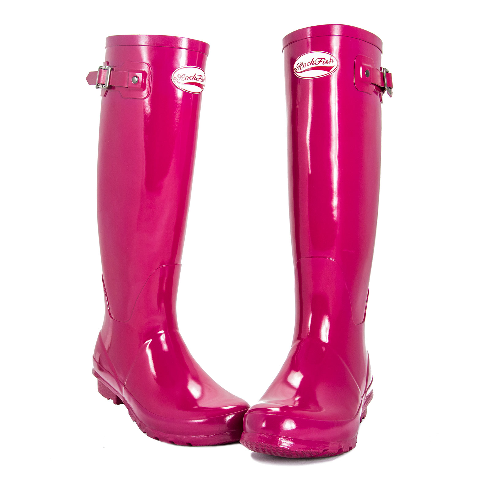 Rockfish Original Wellington Boots Tall Gloss