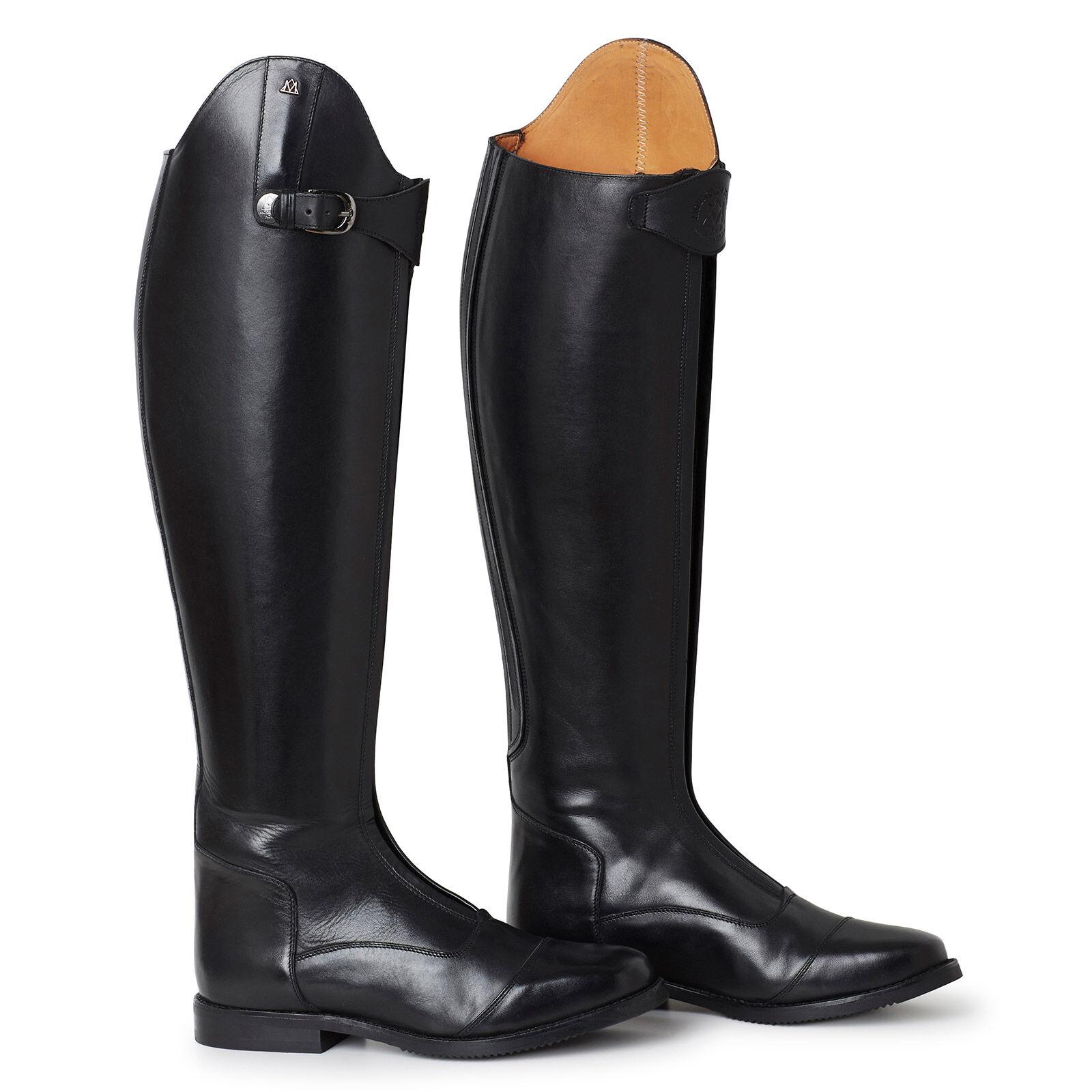 Ridstövlar av läder, mocka eller gummi, Horze ridstövlar