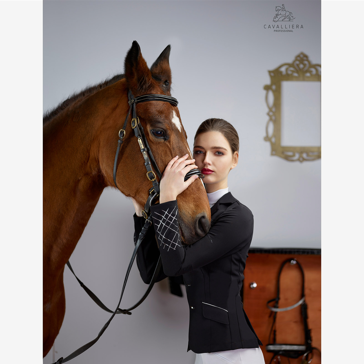 Cavalliera Mademoiselle teknisk tävlingskavaj  23b152e7ff2fa